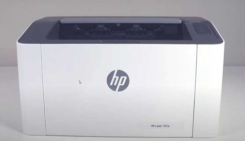 Принтер «HP Laser 107w» с возможностью печати по сети Wi-Fi