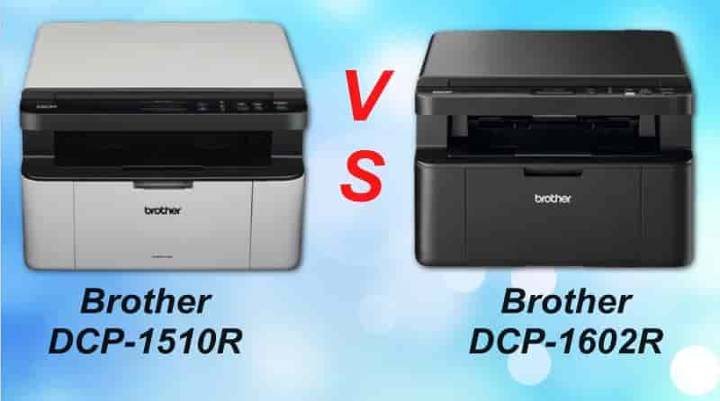 Brother DCP-1510 и RBrother DCP-1602R сравнение двух МФУ